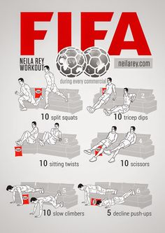 Neila Rey Soccerexercises Soccer Drills Player Workout Workouts For Players Fitness Workouts, Gym Workout Tips, Workout Challenge, Couch Workout, Football Workouts, Football Drills, Soccer Training Drills, Soccer Coaching, Neila Rey Workout