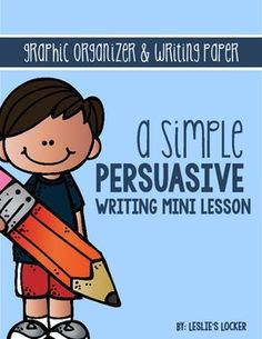 This simple product will help your students to organize their thoughts when writing a persuasive piece on any given debate question. It includes:* a graphic organizer* rough draft paper* final copy paper Happy Teaching! Writing Mini Lessons, Writing Sites, Writing Classes, Writing Workshop, Teaching Writing, Writing Activities, Writing Services, Teaching Ideas, Writing A Persuasive Essay