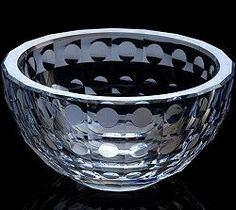 Acrylic Faceted Water Drops Serving Bowl Price:100 Snack Bowl Size
