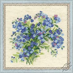 CROSS STITCH KITS - RIOLIS - Cross Stitch Kits - Flowers - Gvello Stitch