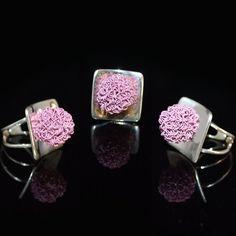 Zeer mooie zilveren ring met prachtige paarse detail  http://www.dczilverjuwelier.nl/zilveren-ringen