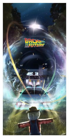 Desenhos Hanna Barbera, Future Wallpaper, Bttf, Culture Pop, Alternative Movie Posters, Movie Poster Art, Back To The Future, The Future Movie, Film Serie