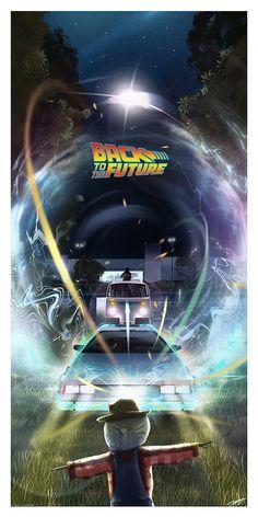 Science Fiction, Movie Poster Art, Film Posters, Desenhos Hanna Barbera, Future Wallpaper, Bttf, Culture Pop, Alternative Movie Posters, Back To The Future