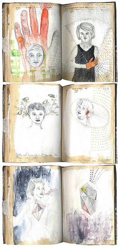 Journal pages, Ines Seidel