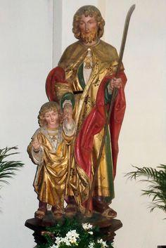 Heilige Jozef met het Kind Jezus, Sint Petrus' Bandenkerk, Venray.