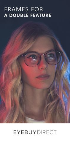 Muse frames in Pink Floral: Update your look for less than a movie date with thousands of frames starting at $6. Start your collection at EyeBuyDirect.com.