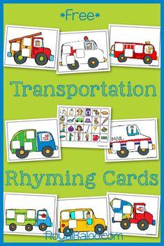 FREE Transportation Printables