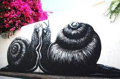 El nuevo mural de ROA en Portugal