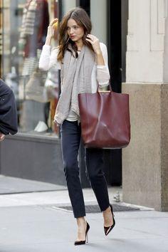 Bag: Céline Cabas Calfskin Clasp Tote