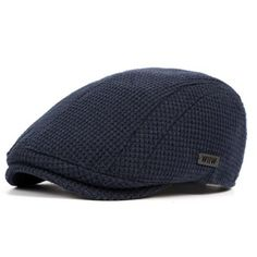 Men Cotton Gatsby Flat Cap Adjustable Knit Beret Ivy Hat Golf Hunting Driving Cabbie Hat is hot sale on Newchic Mobile. Mens Newsboy Hat, Mens Beret, Flat Hats, Knitted Beret, Wool Berets, News Boy Hat, Hats Online, Cool Hats, Hats For Men