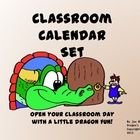 Add a little fire into the beginning of each day with this calendar set just full of appealing dragons!