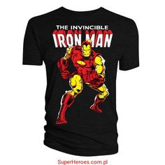 Koszulka Iron Man - komiks