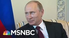 Vladimir Putin Critic Takes Big Risk Exposing Graft   Rachel Maddow   MSNBC