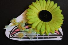 Cute inexpensive hand sewn barrettes!