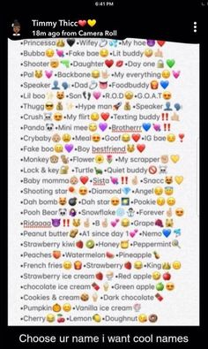 40 best contact names images in 2018 Nicknames For Bestfriends, Nicknames For Friends, Cute Nicknames, Snapchat Nicknames, Cute Snapchat Names, Snapchat Friends, Snapchat Posts, Contact Names For Boyfriend, Challenges