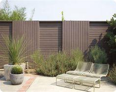 Pool Fence Design Ideas - T-111 plywood fencing