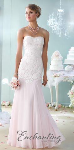 Enchanting by Mon Cheri wedding dress