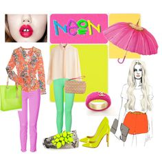 Neon, created by alexandrastyling