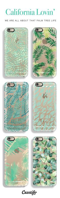 Top 6 palm tree iPhone 6 protective phone cases | Click through to see more iPhone 6 phone case ideas >>> http://www.casetify.com/artworks/hmk234rTVu #gardenart | /casetify/
