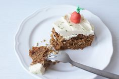 Amazing Carrot Cake with White Chocolate Cream Cheese frosting