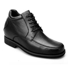 b5e47a3c2e52e Most comfortable 10 cm work dress elevator boots for men to increase height  inch