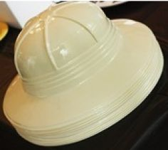 Archaeology hats- favors for the boys? Instead of collars for the girls?  Boys could decorate this with markers?