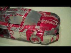 Aluminum Coca Cola Car, school recycle project