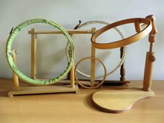Embroidery Tools, Wooden Hoop, Couture, Mirror, Beads, Creative, Cot, Home Decor, Ideas