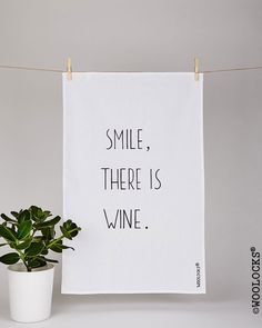 Woolocks® The Smile, there is wine Tea Towel is made of 100% natural cotton fabric  Every WOOLOCKS® Tea Towel is handmade and hand illustrated by the Artist Jurgita Batuleviciene aka J-B-e. Each one is unique and would make a very original gift to everyone!  Only natural materials and non toxic fabric paint has been used.  The Tea Towel is made to order. Please allow 1-3 working days to ship.  Happy Wine Time!   COMMISIONS ACCEPTED! … With love, Woolocks® xxx