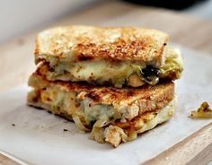 Grilled Cheese with Pickled Brussels Sprouts and Onions Recipe - Spry Living
