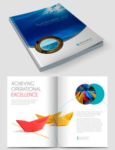 how to make a brochure look good