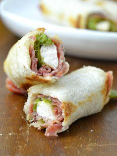 Serranitos enrollados | Cuuking! Recetas de cocina