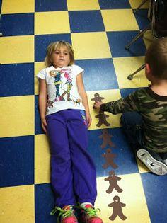 GIVEAWAY ALERT!!!  from Mrs. Lowes' Kindergarten Korner: Gingerbread Man Math Mini-Unit
