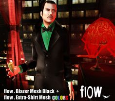Flow Blazer, 10 Variations - Demo available - 10 recolors available - 188L each
