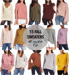Fall Sweaters, Fall Sweaters Under $50, Fall Sweaters 2017