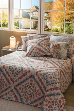 Le Far West, Comforters, Blanket, Bed, Yurts, Home, Creature Comforts, Blankets, Stream Bed