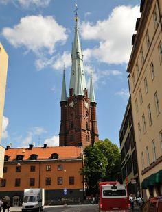 Stockholm, the church of St Clare (Klarakyrkan)
