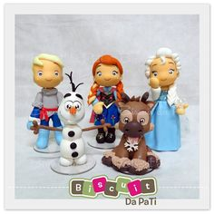 Frozen topo de bolo :) Orçamentos pelo email: contato@user.com.br