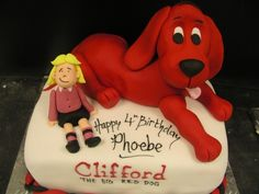 clifford the big red dog birthday cake - Google Search