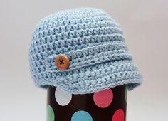 Newborn Newsboy Hat