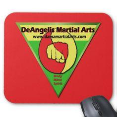 DeAngelis Martial Arts Mouse Pads