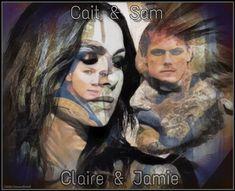 Outlander Fan Art, Love My Kids, Jamie And Claire, Diana Gabaldon, Jamie Dornan, Happy Sunday, Good Morning, Twitter, Movie Posters
