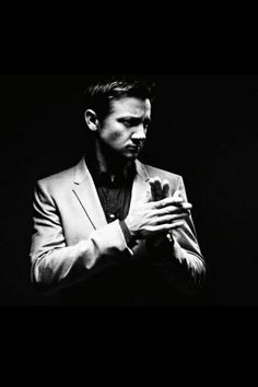 Jeremy Renner... i think he could pull off the next James Bond when Daniel Craig is done. haha