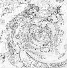 Nicolás Castell's Ukiyo-e Tale   Create