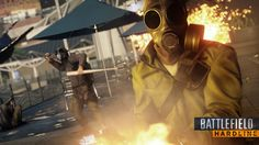 Battlefield Hardline Gas Mask Criminal Wallpaper HD 1920×1080
