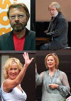 Björn Ulvaeus, Benny Andersson, Agnetha Fältskog e Anni-Frid Lyngstad (2007-2008)