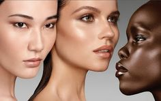 Pure Radiant Tinted Moisturizer campaign image. Overly photoshopped, but I have this TM and it works really well.