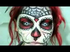 Day of the dead makeup idea. Pin does not work.