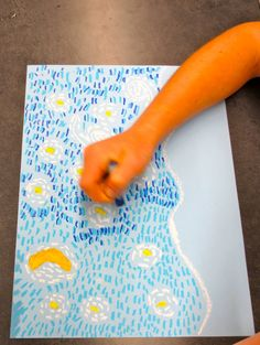 Zilker Elementary Art Class: 1st Grade Starry Night Over Austin http://www.pinterest.com/pin/52846995599213657/