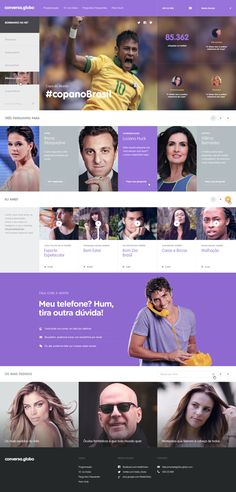 Conversa.Globo by Quadra Collective, via Behance